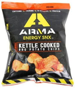 Caffeinated kettle chips to pair with our Red Bull. What could go wrong. - IMAGE VIA