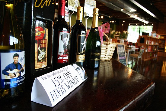It's Elvis Month at Saint Louis Cellars! - KATIE MOULTON