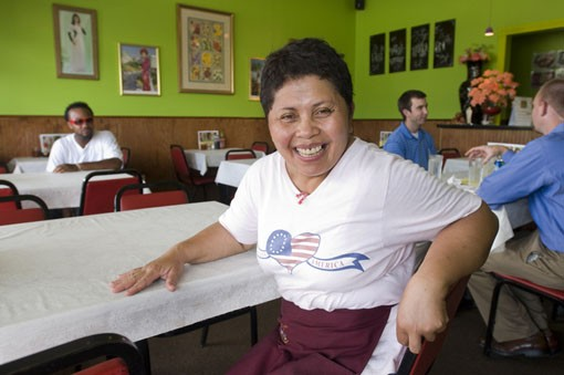 Midland Wok owner Cleo Phan.