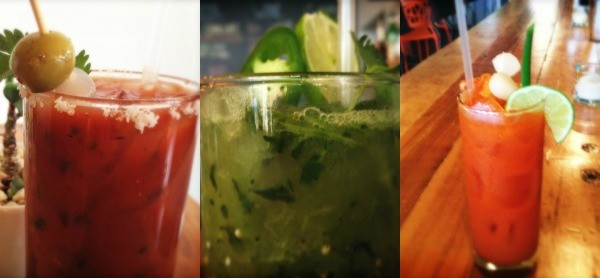 Anchovy-free bloodys from Tree House. | Patrick J. Hurley