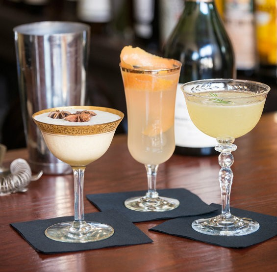 Holiday cocktails at Brasserie. | Corey Woodruff