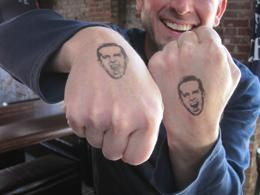 If you must get a craft-beer tattoo, take a clue from Stone Brewing's Greg Koch -- go temporary. - KRISTINA COLEY