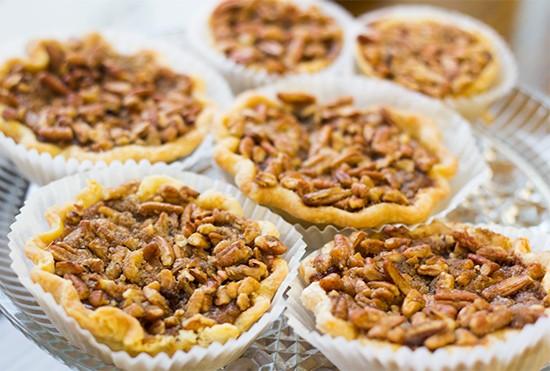 Pie Oh My's pumpkin-maple pecan pie. | Photos by Mabel Suen