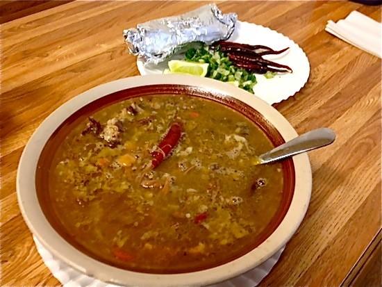 The goat soup at La Tejana Taqueria | Ian Froeb