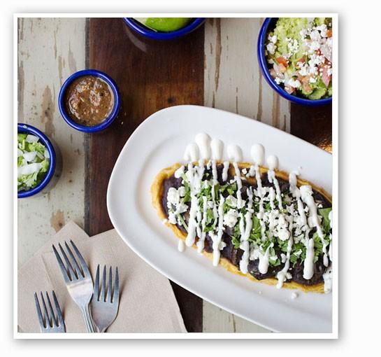 Mission Taco's Wild Mushroom Huarache. | Jennifer Silverberg