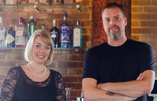 Beverage director Meghan French and executive chef Brian Hardesty. - MABEL SUEN