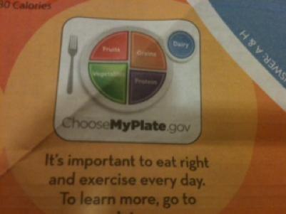 Helpful nutrition information on the IHOP kids menu. - ROBIN WHEELER