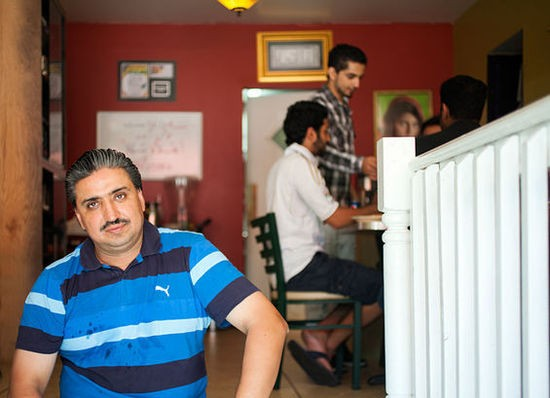 Qayum Mohammad, owner of Sameem Afghan Restaurant - JENNIFER SILVERBERG