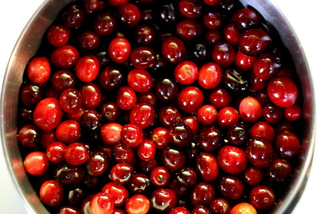 Cranberries brighten the Thanksgiving table. | Andrew Yee