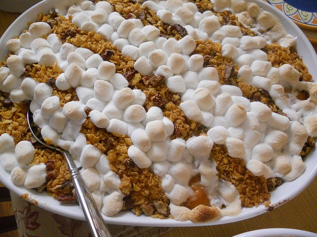 Sweet potato casserole. | Laura Blankenship
