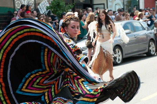 The People's Joy Parade on Cherokee Street kicked off the festivities at last year's Cinco De Mayo street fest. - JON GITCHOFF