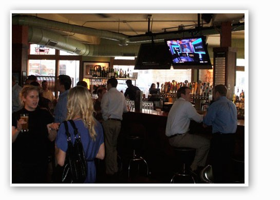 Inside Bar Louie. | Kristen Klempert
