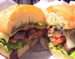 The portobella sandwich at OR disappointed. - REASE KIRCHNER