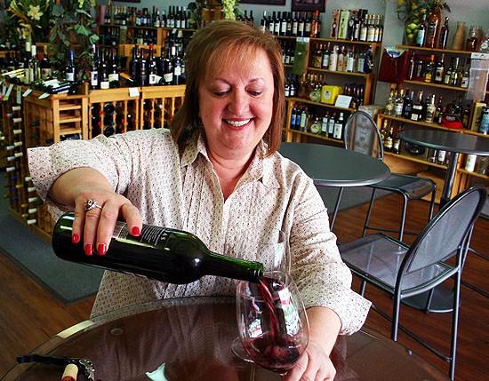 Kata Lozina serves South County wine lovers. - KATIE MOULTON