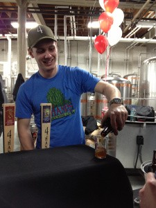 Martin Toft at work at 4 Hands Brewing Company. | Kevin Lemp