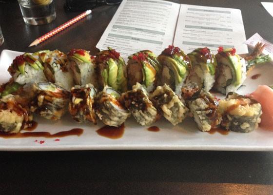 Hello sushi. | Nancy Stiles
