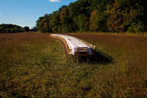 """ONE LONG TABLE"" | SARA GRAHAM"