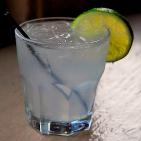 A gin rickey at Maryland House. | Kaitlin Steinberg