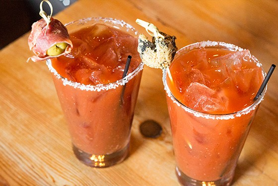 "The ""Bloody Bull"" and ""Bloody Caesar."""