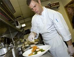 Harvest executive chef Nick Miller - JENNIFER SILVERBERG