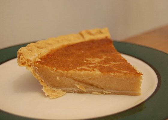 A slice of bean pie. | Stu Spivack