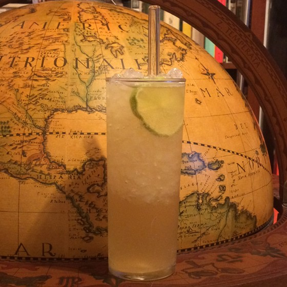 Bourbon and ginger beer highball. | Patrick J. Hurley