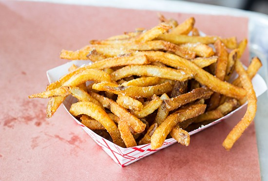 Handcut fries.