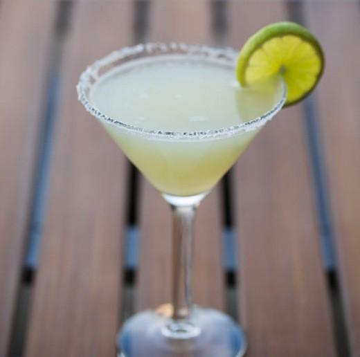 A skinny margarita from Vida Mexican Kitchen - JENNIFER SILVERBERG