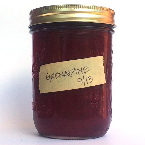 Fresh grenadine at home. | Patrick J. Hurley