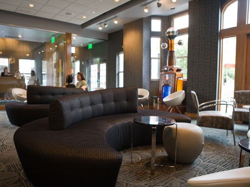 The lounge at Eclipse. - PHOTO: STEW SMITH