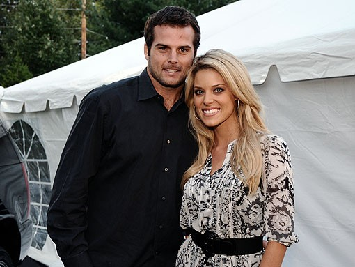 Hey, there's new Rams quarterback Kyle Boller with a special friend, who looks eerily like Jessica Simpson. See more photos from last night. - PHOTO: EGAN O'KEEFE