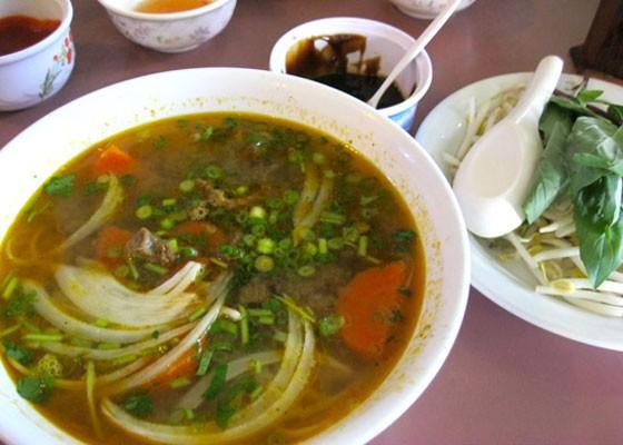 Hu tieu bo kho (Vietnamese beef stew) at Banh Mi.   Erika Miller