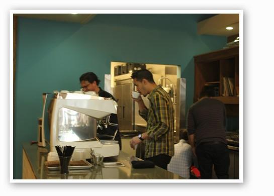 One of the perks of working at Blueprint: plenty of caffeine! | Nancy Stiles
