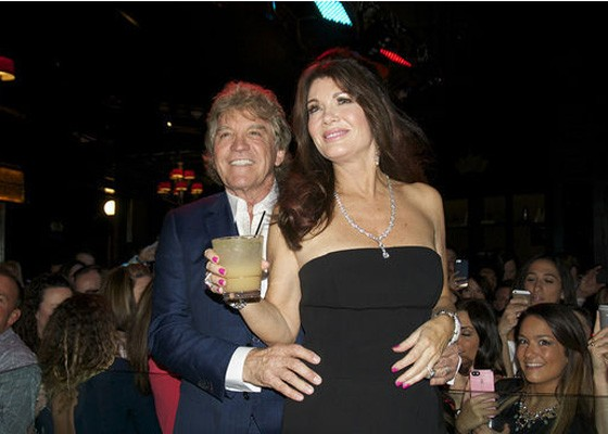 Ken Todd and Lisa Vanderpump at the Crown Room. | Caroline Yoo