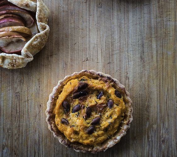 The butternut-squash tart and apple galette from Red Fox Baking & Catering | Jennifer Silverberg