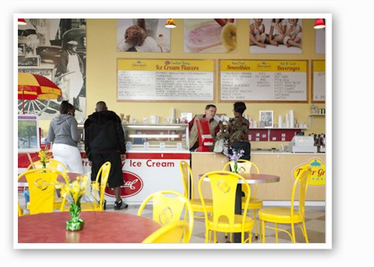 Try a hot dog or some Central Dairy ice cream.   Sarah Rusnak