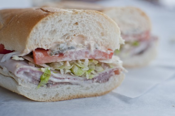 "Mom's Deli's namesake sandwich, the ""Mom's Special."" 