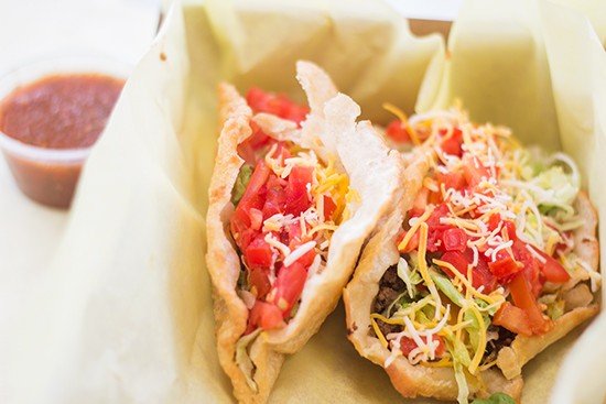 The food at Fort Taco is worth the wait.   Mabel Suen