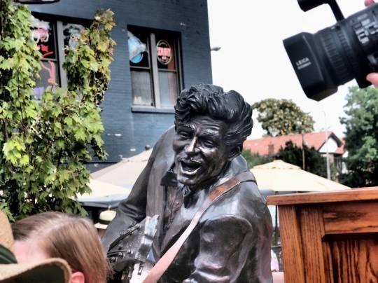 Where were you when the Chuck Berry statue was dedicated? - ALBERT SAMAHA