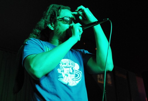 Mr. Lif at the Gramophone on Thursday night. View more photos - PHOTO: EGAN O'KEEFE