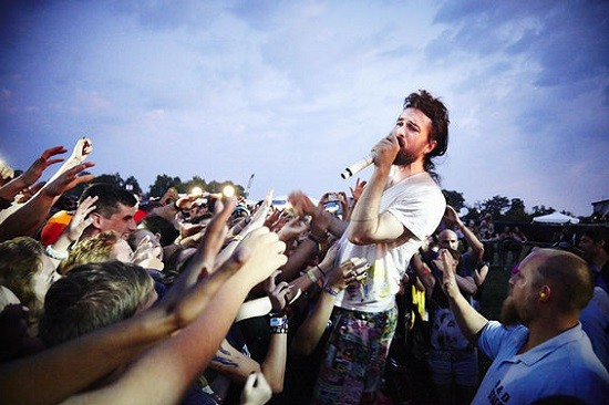 Edward Sharpe and the Magnetic Zeros at LouFest last year. - STEVE TRUESDELL