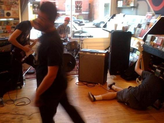 Shaved Women, tearing up Record Store Day - NICK LUCCHESI