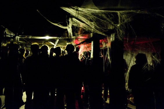 Apop's basement drew some adventurous souls - KHOLOOD EID