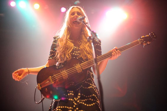 Haim last night at the Pageant. See more photos of Haim last night at the Pageant. - PHOTO: TODD OWYOUNG