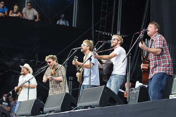 Trampled By Turtles performs tonight at the Pageant with Charlie Parr and the Lowest Pair. - PHOTO BY ERIK HESS