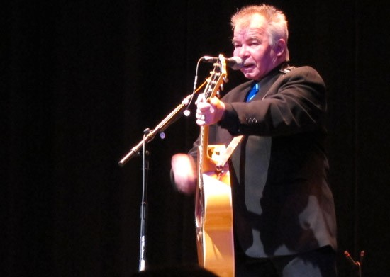 John Prine stands and delivers at the Touhill - ROY KASTEN