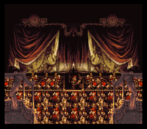 Final Fantasy VI's depiction of a symphony orchestra. Inaccurate? Check. Charming? Double check. - LET'S PLAY ARCHIVE