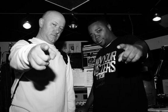 DJ Sno and Finsta.