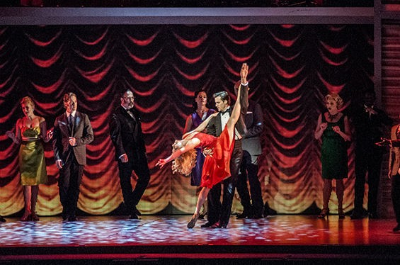 Pleasing the Kellerman's guests during Dirty Dancing at the Fox Theatre. See more photos here. - CAROLINE YOO