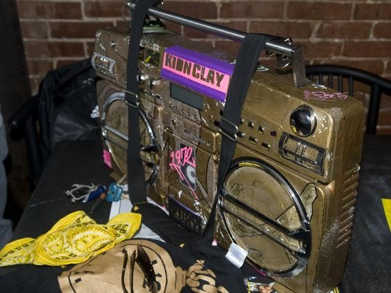 The most beautiful boombox our photographer has have ever seen - JON GITCHOFF